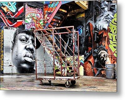 Street Portraiture Metal Print