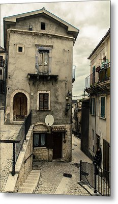 Streets Of Pretoro - A Journey In Italy  Metal Print by Andrea Mazzocchetti
