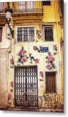 Streets Of Valencia  Metal Print by Carol Japp