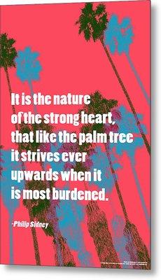 Strength In Nature Metal Print by John Fish