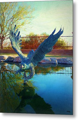 Strength Renewed Metal Print