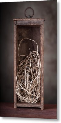 String Box Still Life Metal Print by Tom Mc Nemar
