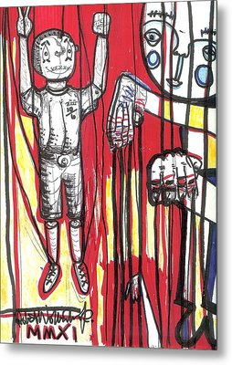 Strings Metal Print by Robert Wolverton Jr