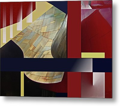 Structure 0217 Metal Print