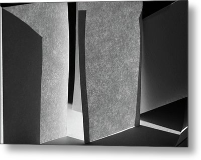 Structures, No. 15 Metal Print by Bernice Williams