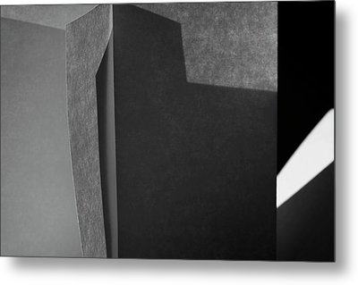 Structures, No. 8 Metal Print by Bernice Williams