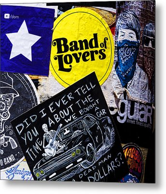 Stuck On Band 'aid' Metal Print by Stephen Stookey