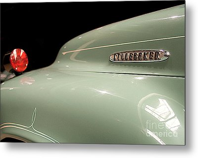 Metal Print featuring the photograph Studebaker by Patricia Hofmeester