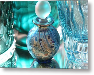 Studies In Glass...murano Metal Print