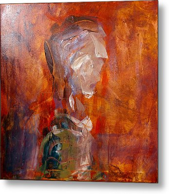 Study For 23rd Century Man, 2016 Metal Print by Original Art For your home