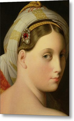 Study For An Odalisque Metal Print