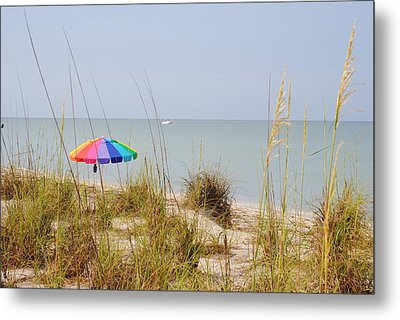 Stump Pass Beach State Park Metal Print by Steven Scott