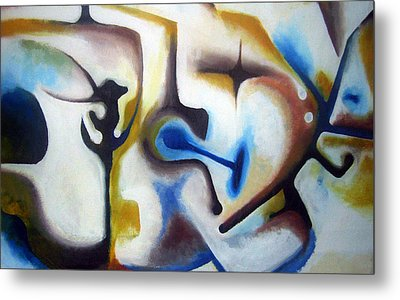 Subconscious Metal Print by Meli Laddpeter