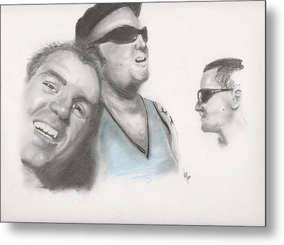 Sublime Trio Metal Print by Matt Burke