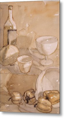 Subtle Still Life Metal Print