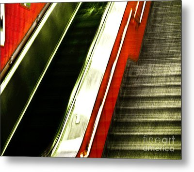 Subway  Metal Print by Emilio Lovisa