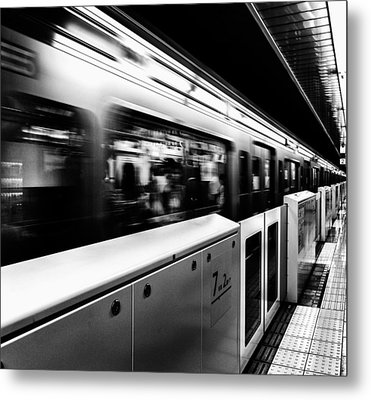 Subway Metal Print by Hayato Matsumoto