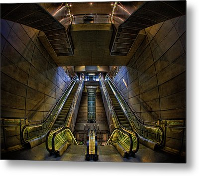 Metal Print featuring the photograph Subway by Stefan Nielsen