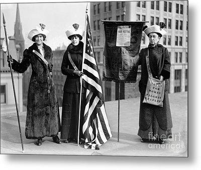 Suffragettes, C1910 Metal Print by Granger