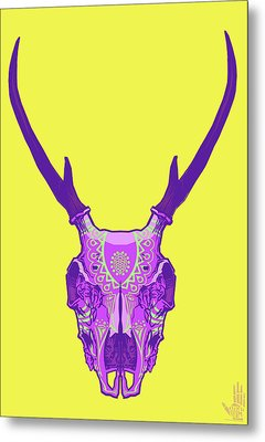 Sugar Deer Metal Print