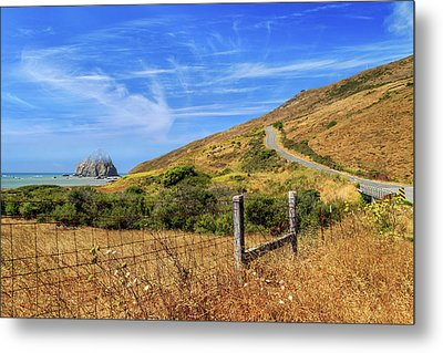 Metal Print featuring the photograph Sugarloaf Island On The Lost Coast by James Eddy
