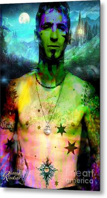 Sully Erna Metal Print