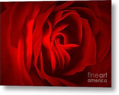 Sultry Mood Metal Print