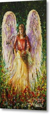 Summer Angel Metal Print