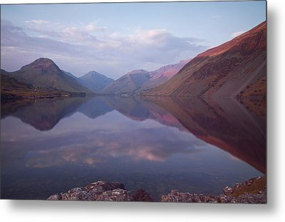 Summer At Wastwater In Cumbria Metal Print by Pete Hemington