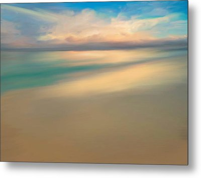 Summer Beach Day  Metal Print by Anthony Fishburne