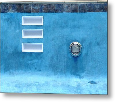 Summer Blues Metal Print by Anna Villarreal Garbis