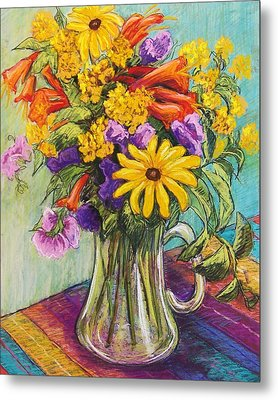 Summer Bouquet Metal Print by Candy Mayer