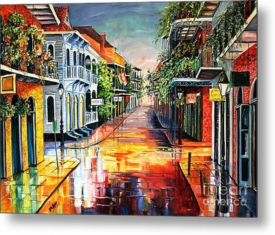 Summer Day On Royal Street Metal Print