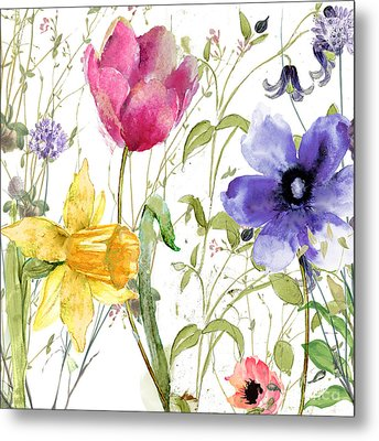 Summer Diary Metal Print by Mindy Sommers