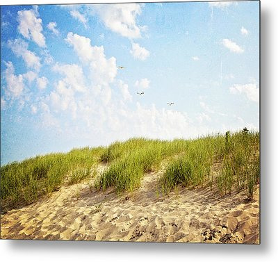 Metal Print featuring the photograph Summer Dunes by Melanie Alexandra Price