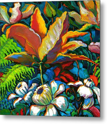 Summer Florals Metal Print by Jeanette Jarmon