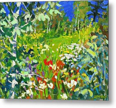Summer Flowers Metal Print by Brian Simons