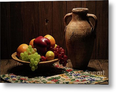 Summer Fruit Metal Print by Dodie Ulery