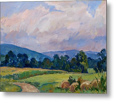 Summer Haze Berkshires Metal Print by Thor Wickstrom
