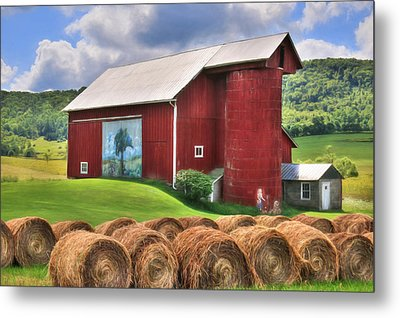Summer In Bradford County Metal Print by Lori Deiter