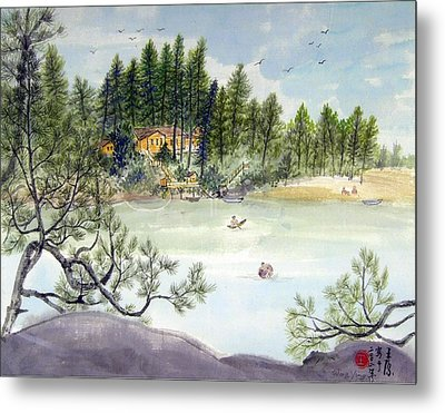 Summer In Canada Metal Print by Ying Wong