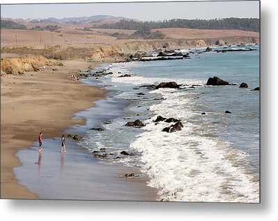 Metal Print featuring the photograph Summer In San Simeon by Art Block Collections