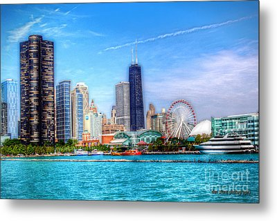 Summer In The City Metal Print by Dan Stone