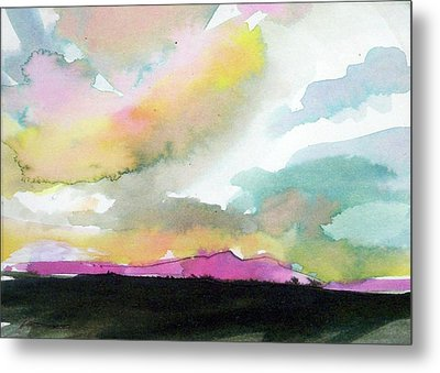 Summer Monsoon Metal Print