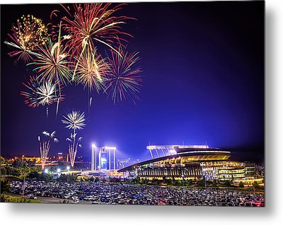 Summer Nights At The K Metal Print by Thomas Zimmerman
