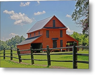Summer On The Farm Metal Print by Linda Brown