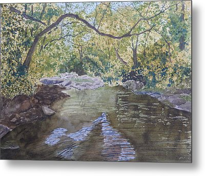 Metal Print featuring the painting Summer On The South Tow River by Joel Deutsch
