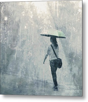 Summer Rain Metal Print by LemonArt Photography