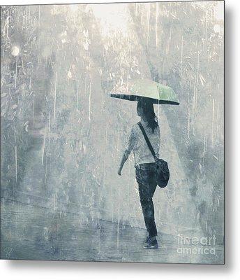 Metal Print featuring the photograph Summer Rain by LemonArt Photography