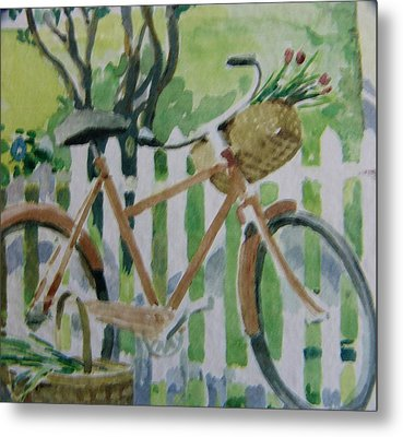 Summer Ride Metal Print by Florene Welebny